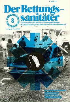 Der Rettungssanitäter 08/1982