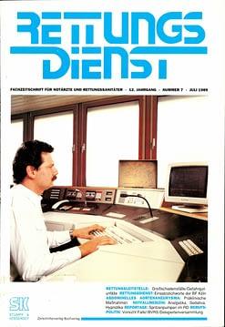 RETTUNGSDIENST 07/1989