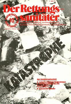 Der Rettungssanitäter 10/1982