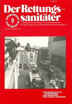 Der Rettungssanitäter 09/1983