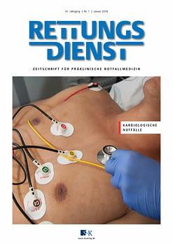 Rettungsdienst 1/2018 - Kardiologische Notfälle
