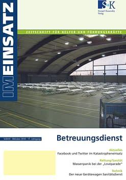 IM EINSATZ 05/2010 - Betreuungsdienst