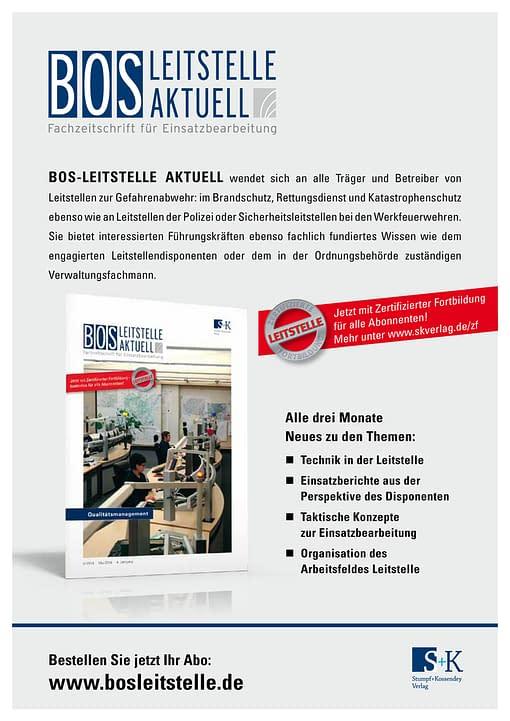 BOS LEITSTELLE AKTUELL 2/2014 - Qualitätsmanagement