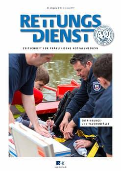 Rettungsdienst 6/2017 - Ertrinkungs- und Tauchunfälle