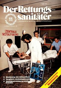 Der Rettungssanitäter 11/1981
