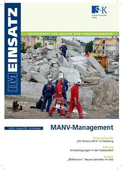 IM EINSATZ 06/2013 - Solidarität im Bevölkerungsschutz