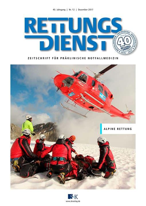 Rettungsdienst 12/2017 - Alpine Rettung