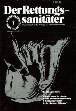 Der Rettungssanitäter 07/1981