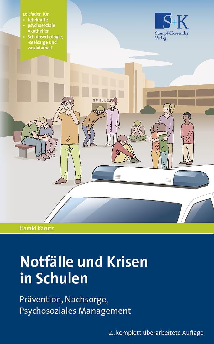 Cover des Buches Notfälle und Krisen in Schulen