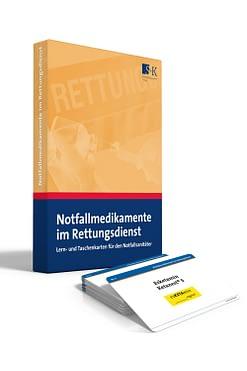Notfallmedikamente im Rettungsdienst - Lern- und Taschenkarten für den Notfallsanitäter