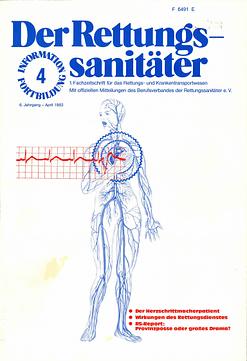 Der Rettungssanitäter 04/1983