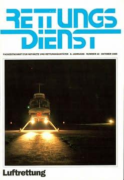 RETTUNGSDIENST 10/1985