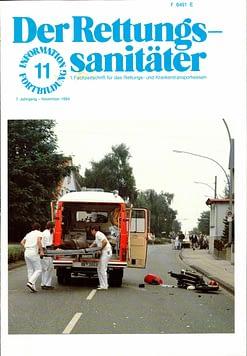 Der Rettungssanitäter 11/1984