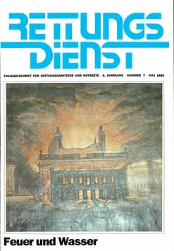 RETTUNGSDIENST 07/1985