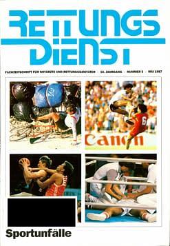 RETTUNGSDIENST 05/1987