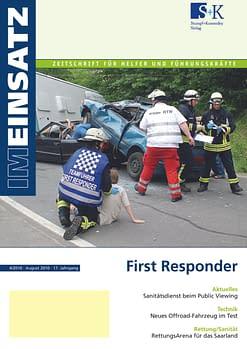 IM EINSATZ 04/2010 - Helfer vor Ort und First Responder