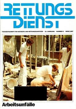 RETTUNGSDIENST 03/1987
