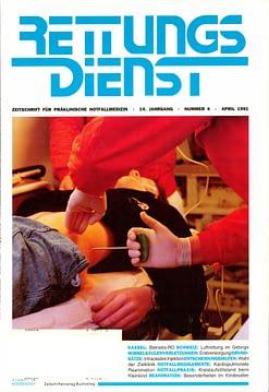 RETTUNGSDIENST 04/1991