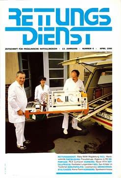 RETTUNGSDIENST 04/1990
