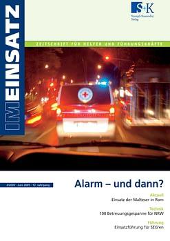 IM EINSATZ 03/2005 - Alarm – und dann?