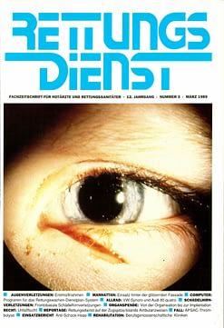 RETTUNGSDIENST 03/1989