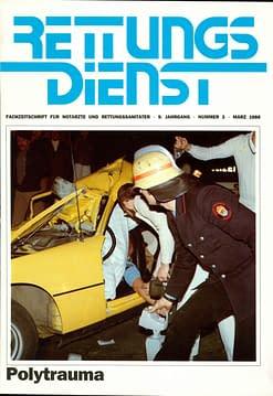 RETTUNGSDIENST 03/1986
