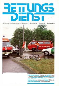 RETTUNGSDIENST 10/1990