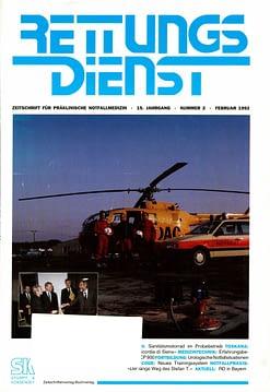 RETTUNGSDIENST 02/1992