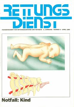 RETTUNGSDIENST 04/1985