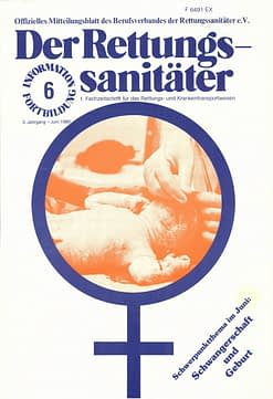 Der Rettungssanitäter 06/1980