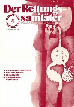 Der Rettungssanitäter 04/1984