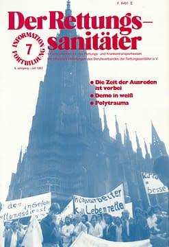 Der Rettungssanitäter 07/1983
