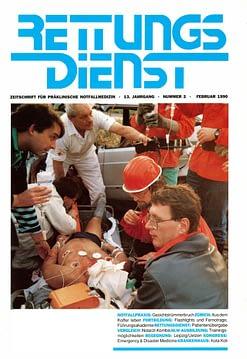 RETTUNGSDIENST 02/1990