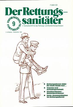 Der Rettungssanitäter 09/1981