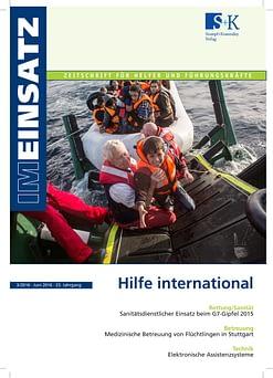 IM EINSATZ 03/2016 - Katastropheneinsätze in anderen Ländern