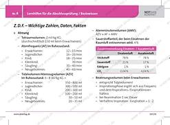 Lernhilfe: wichtige Zahlen und Fakten