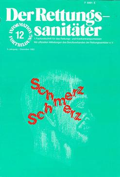 Der Rettungssanitäter 12/1982