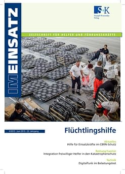 IM EINSATZ 03/2015 - Hilfe und Unterstützung für Menschen auf der Flucht
