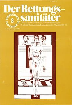 Der Rettungssanitäter 08/1983