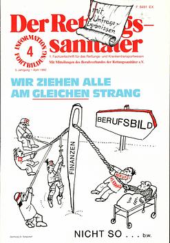 Der Rettungssanitäter 04/1982