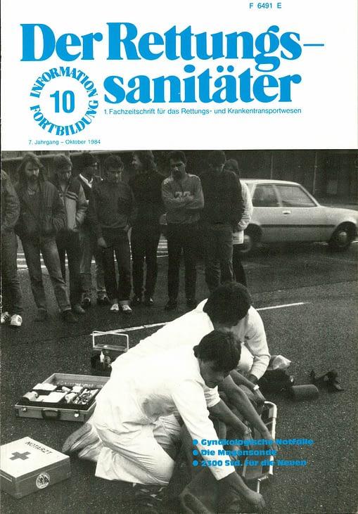 Der Rettungssanitäter 10/1984