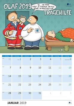 OLAF-Kalender 2019 - Tragehilfe