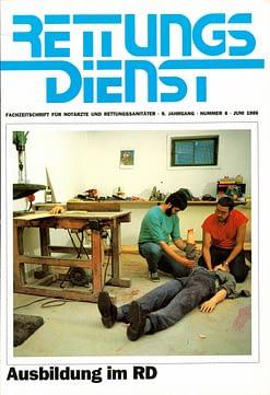 RETTUNGSDIENST 06/1986