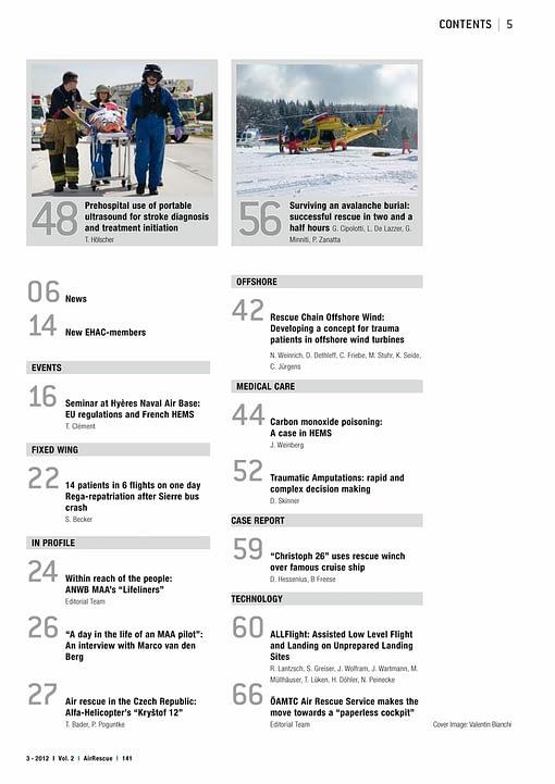AirRescue Magazine - EUROPEAN HEMS