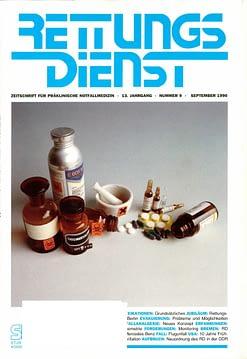 RETTUNGSDIENST 09/1990