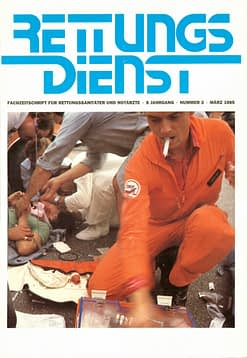 RETTUNGSDIENST 03/1985