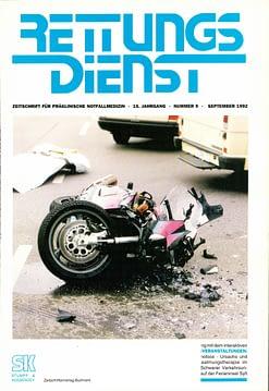 RETTUNGSDIENST 09/1992