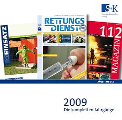 Jahres-CD 2009 - RETTUNGSDIENST, IM EINSATZ, 112 MAGAZIN