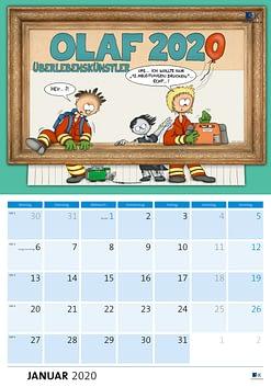 OLAF-Kalender für den Rettungsdienst