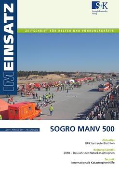 IM EINSATZ 01/2011 - SOGRO MANV 500